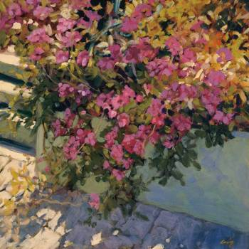 Steps and Summer Flowers